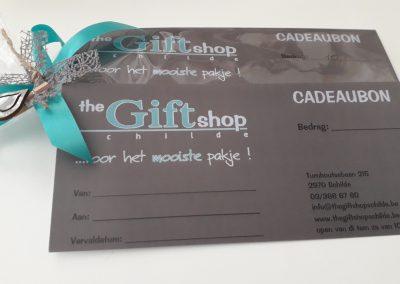 Cadeaubon The Gift shop Schilde
